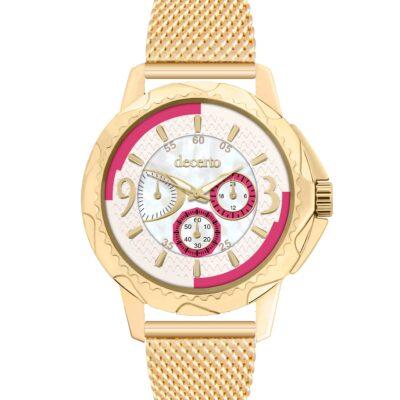 Ρολόι Decerto Candy 9393-113 Χρυσό Μπρασελέ