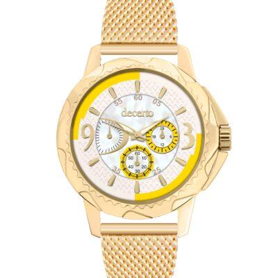 Ρολόι Decerto Candy 9393-114 Χρυσό Μπρασελέ