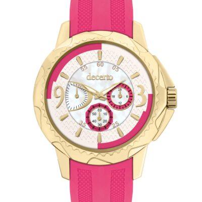 Ρολόι Decerto Candy 9393-3 Φούξια Λουράκι Σιλικόνης