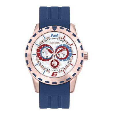 Ρολόι Decerto Flirty 1111-3 Μπλε Λουράκι Σιλικόνης
