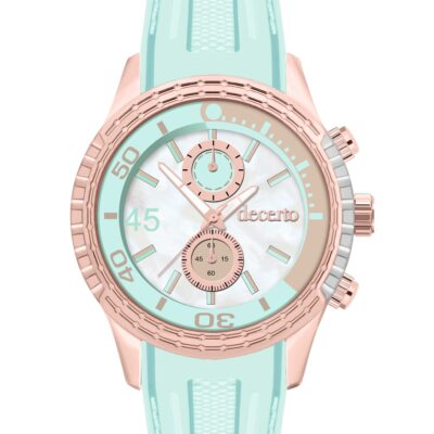 Ρολόι Decerto Ice Lolly 1010-41 Πράσινο Λουράκι Σιλικόνης