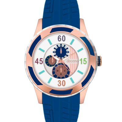 Ρολόι Decerto Lollipop 3060-3 Μπλε Λουράκι Σιλικόνης