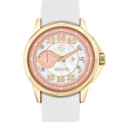 Ρολόι Decerto Lovish 4507-25 Λευκό Λουράκι Σιλικόνης