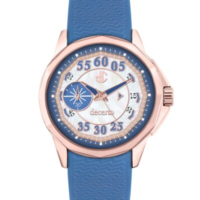 Ρολόι Decerto Lovish 4507-1 Μπλε Λουράκι Σιλικόνης