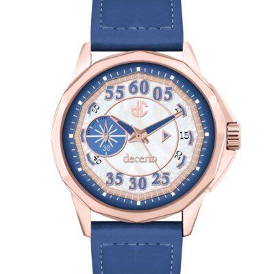 Ρολόι Decerto Lovish 4507-81 Μπλε Δέρματινο Λουράκι