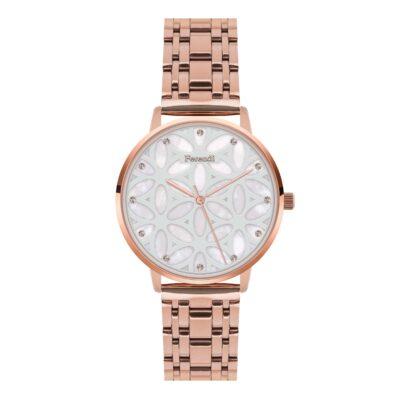 Ρολόι Ferendi Chrysalis 3820R-205 Ροζ-Χρυσό Μπρασελέ