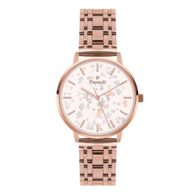 Ρολόι Ferendi Glint 3820R-204 Ροζ-Χρυσό Μπρασελέ