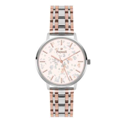 Ρολόι Ferendi Glint 3820S-224 Ασημί Μπρασελέ