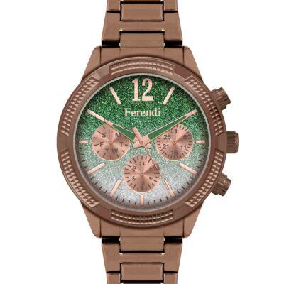 Ρολόι Ferendi Sparkle 1142-3 Μπρονζέ Μπρασελέ