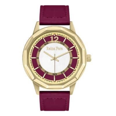 Ρολόι Reina Fere Nereis 8826-4 Κόκκινο Δέρματινο Λουράκι