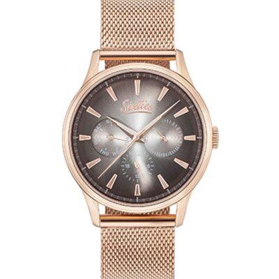 Ρολόι Sixties Motion RGME600-02 Ροζ Χρυσό Μπρασελέ