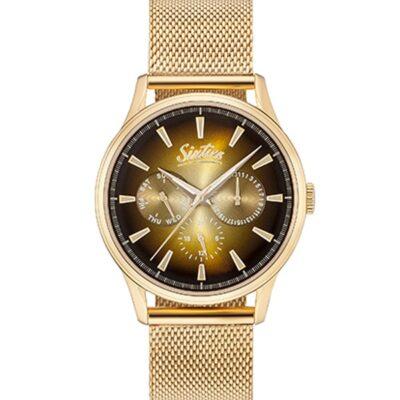 Ρολόι Sixties Motion YGME600-07 Χρυσό Μπρασελέ