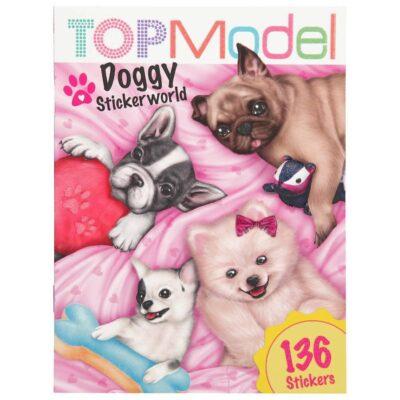 ΜΠΛΟΚ ΜΕ ΑΥΤΟΚΟΛΛΗΤΑ TOP MODEL STICKER WORLD DOGGY  by Depesche