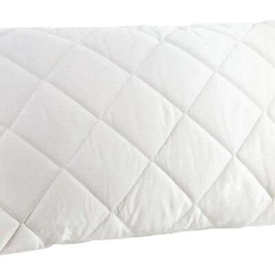 Anna Riska Ζεύγος Καπιτονέ Μαξιλαροθήκες 50X70 Λευκό