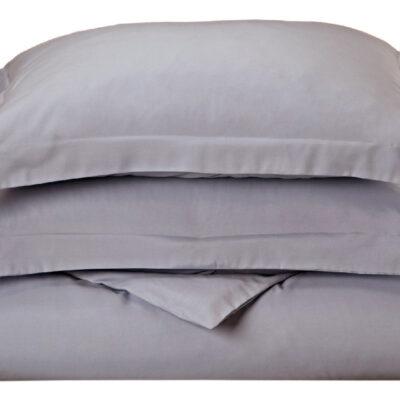 Anna Riska Ζεύγος Μαξιλαροθήκες Oxford 50X70+5 Luxury 10 Grey