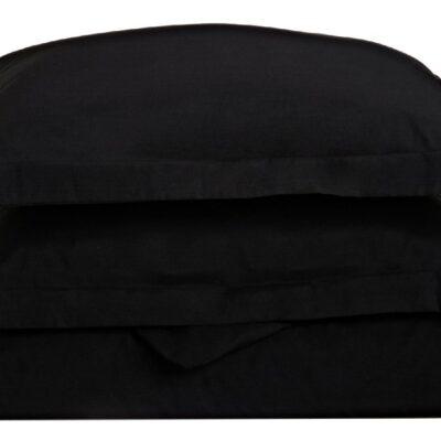 Anna Riska Ζεύγος Μαξιλαροθήκες Oxford 50X70+5 Luxury 11 Black