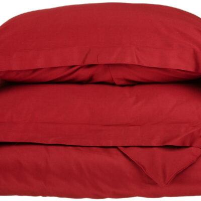Anna Riska Ζεύγος Μαξιλαροθήκες Oxford 50X70+5 Luxury 12 Red
