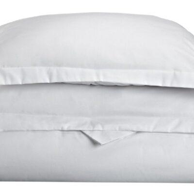 Anna Riska Ζεύγος Μαξιλαροθήκες Oxford 50X70+5 Luxury 13 White Λευκό