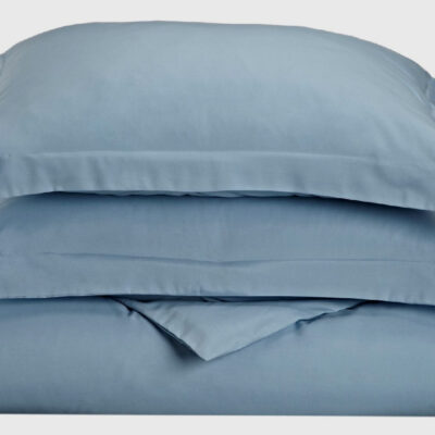Anna Riska Ζεύγος Μαξιλαροθήκες Oxford 50X70+5 Luxury 6 Lake Blue