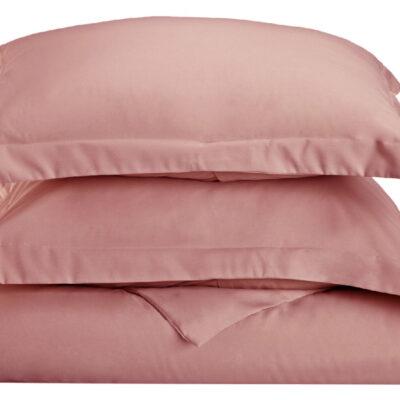 Anna Riska Ζεύγος Μαξιλαροθήκες Oxford 50X70+5 Luxury 8 Blush Pink