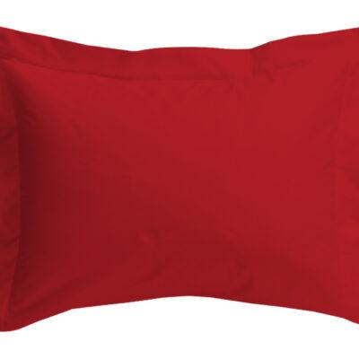 Anna Riska Ζεύγος Μαξιλαροθήκες Oxford 50X70+5 Prestige 10 Red