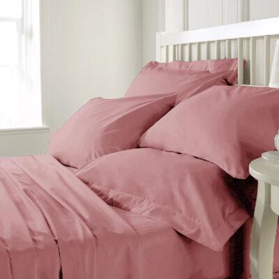 Anna Riska Σετ Σεντόνια Λίκνου 80X100 Prestige Baby 1 Blush Pink