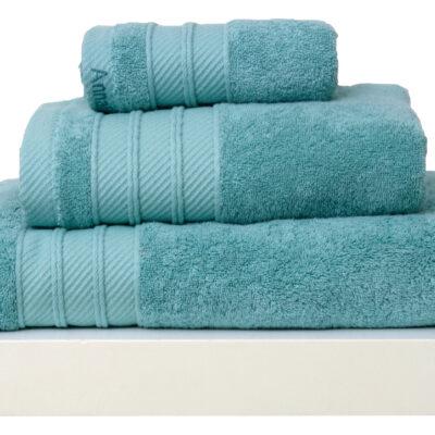 Anna Riska Σετ 3 Πετσέτες 30X50 Συσκευασία Δώρου Soft 12 Lake Blue