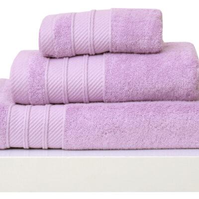 Anna Riska Σετ 3 Πετσέτες 30X50 Συσκευασία Δώρου Soft 9 Lilac